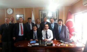 CHP İl Başkanı Sayın Ali ENGiN'nin Derneğimize Ziyareti