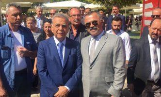 İzmir Büyükşehir Belediye Başkanı Sayın Aziz KOCAOĞLU ile Dernek Başkanımız Sayın Erdal ERBAKAN