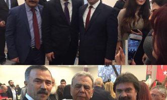 İzmir Büyükşehir Belediye Başkanı Sayın Aziz KOCAOĞLU ve Karşıyaka Belediye Başkanı Sayın Hüseyin Mutlu AKPINAR