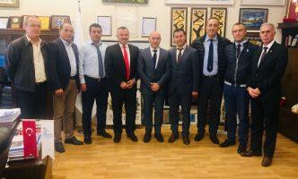 Seferihisar Belediye Başkanı Sayın Tunç SOYER'i Makamında Ziyaret Ettik